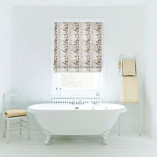 Roman Blind_Stylish Natural_Roomset