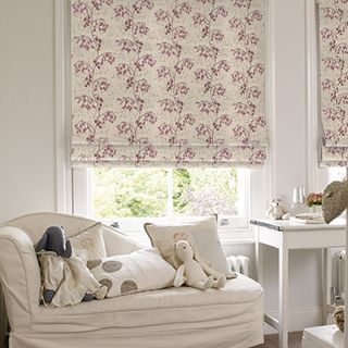 Roman Blind_Willowy Amethyst_Roomset