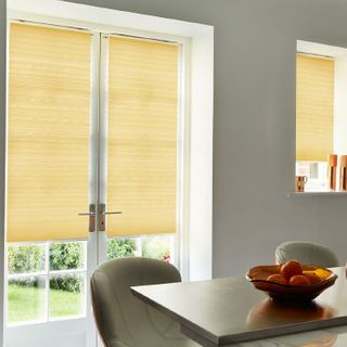 Pleated Blind_Grenoble Citrus_Roomset