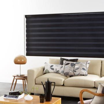 black enlight closed - living room - cascade jet