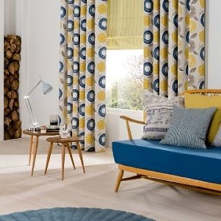 yellow-freyja-mustard-curtains-lotta-citron-roman-blinds