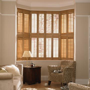 Warwick Tier on Tier Brown Shutters