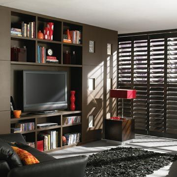 Warwick Full Height Brown Shutters
