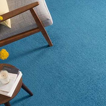 blue carpet-living room-elements deep blue sea