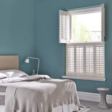 Tier on Tier Craftwood Silk White  Shutters