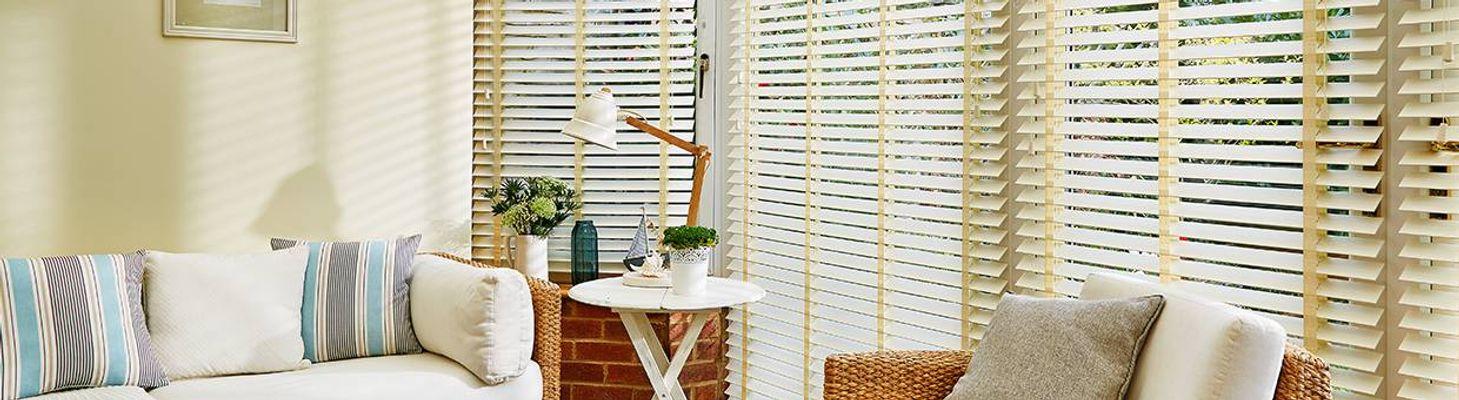 wooden blinds hillarys. Black Bedroom Furniture Sets. Home Design Ideas