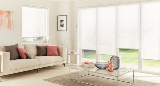 Kinsey-White-Electric-blind-living room -