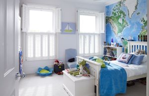Warwick White tier on tier shutters
