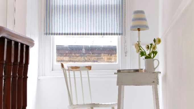 Harrogate Blue Roller blind