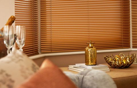 Special Finish Gold Copper Venetian blind