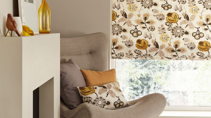 Jewel Edit Amber Roman blind