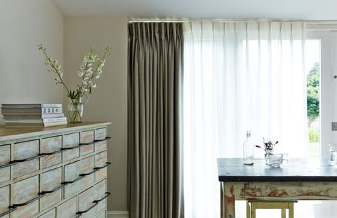 House Beautiful curtains and voile