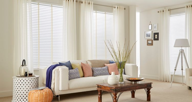 Lyra Voile with Purity Wooden blind