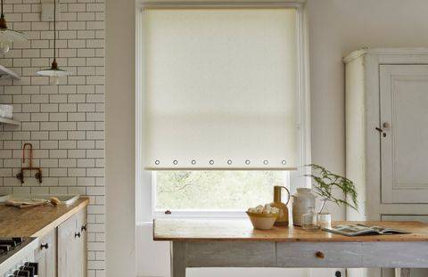 Sherbourne Lemon Roller blind