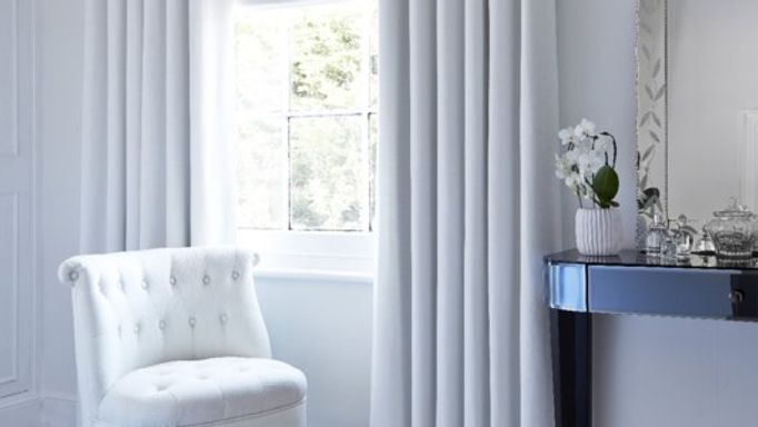 Islita Ice White curtains