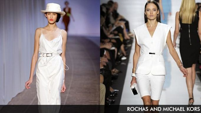 Rochas and Michael Kors catwalk