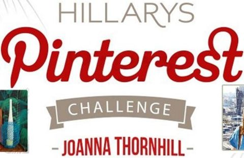 HIllarys Pinterest Challenge with Joanna Thornhill