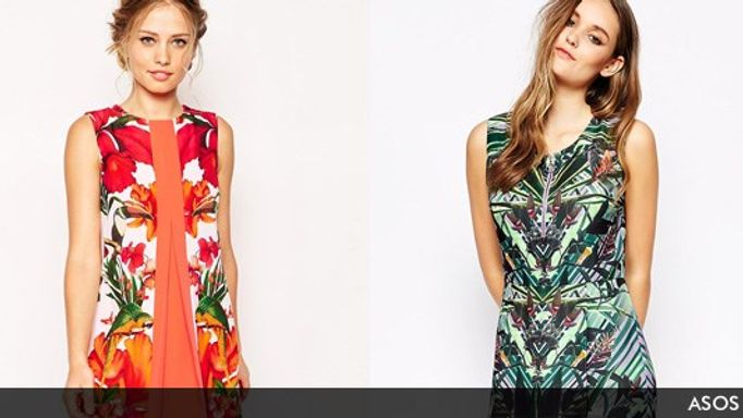 asos tropical prints style inspiration