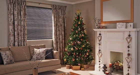 etienne mink curtains christmas living room -