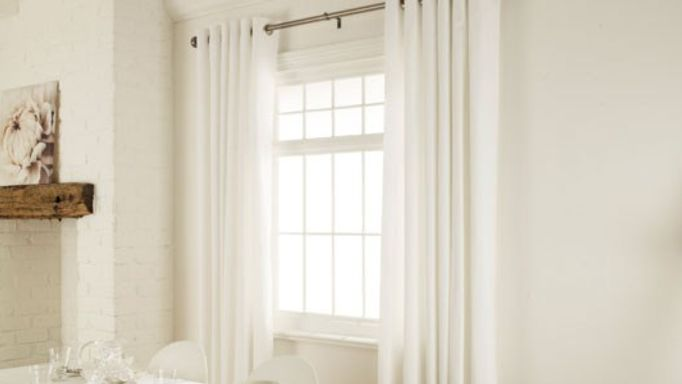White Thermal Curtains