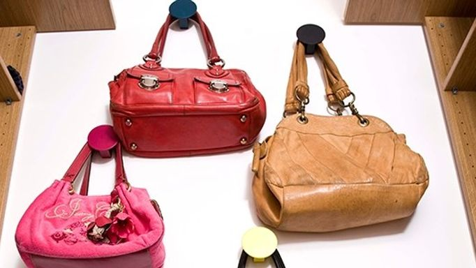 handbags close up