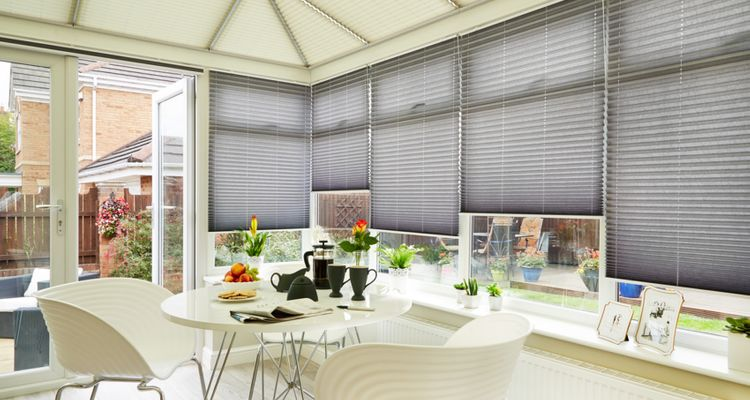 the complete guide to conservatory roof blinds hillarys. Black Bedroom Furniture Sets. Home Design Ideas