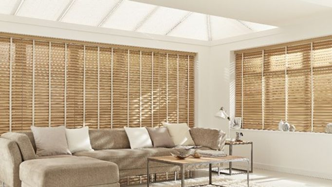 Scandinavian-Beech-Wooden-blind-with-white-tape