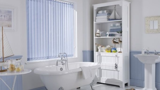 Acacia Blue Vertical blind
