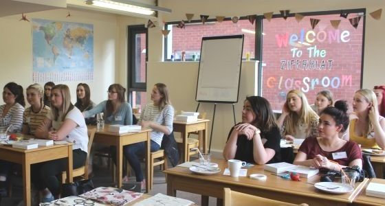 Manchester bloggers at Jewel Crafternoon -