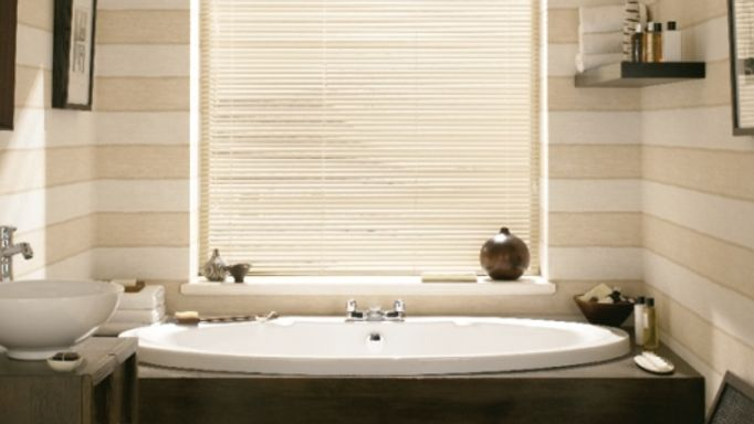 Venetian blinds for bathrooms