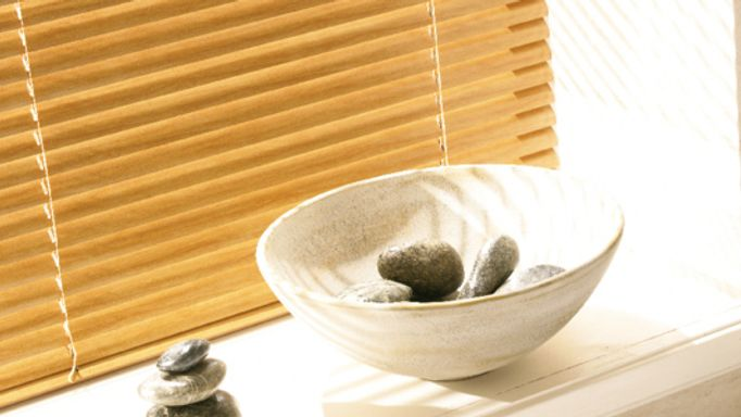 Bathroom Blind Ideas - Waterproof Bathroom Faux Wooden Blinds