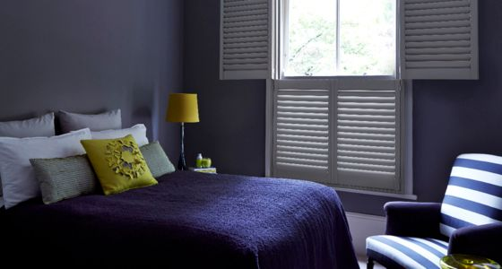 Tier on Tier bedroom shutters -