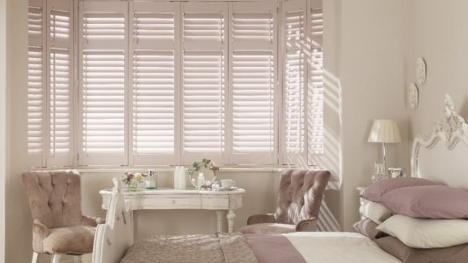 Awkward shaped window shutters
