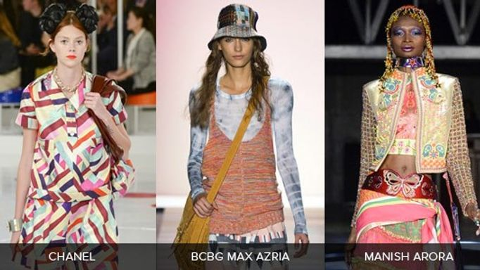 Geometric Catwalk Fashion Trends Inspiration