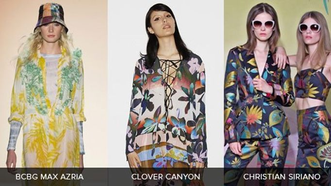 Spring Catwalks Botanical Trends Inspiration