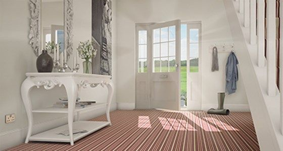 Striped Carpet -