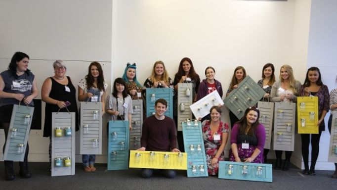 Bloggers show off their creations at our shutters crafternoon