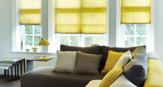 Grenoble Citrus Pleated blind -