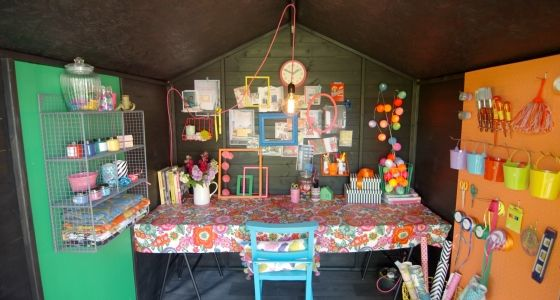 The-interior-of-Sophie-Robinson's-She-Shed -