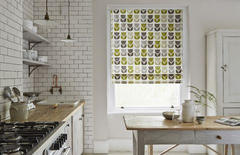 Rayna-Apple-Roller-blind-kitchen