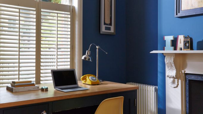 Cream-cafe-style-shutters-home-office