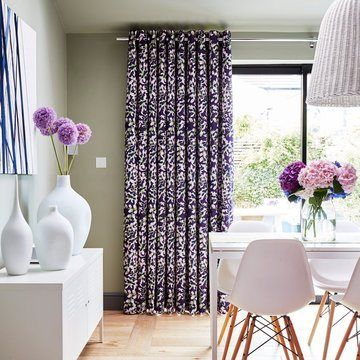 Purple-curtain---dining-room---grapeflower-berry