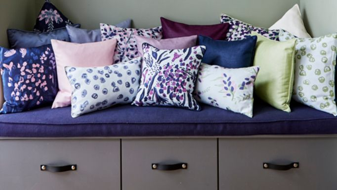 Charlotte Beevor cushion collection