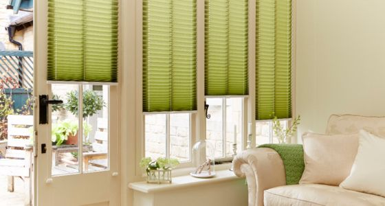 Bali-Moss-Pleated-blind -