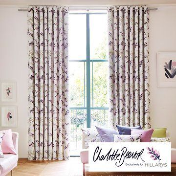 Pink-curtain---living-room---petala-blossom