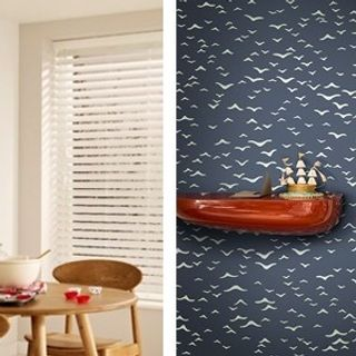 haywood-limed-white-wooden-blinds-paired-with-farrow-ball-yukutori-bp4305-wallpaper