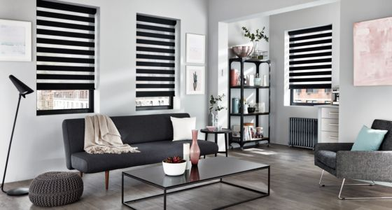 Blinds For Anthracite Windows And Doors Hillarys