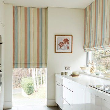 Mishima Dawn Kitchen roman blind