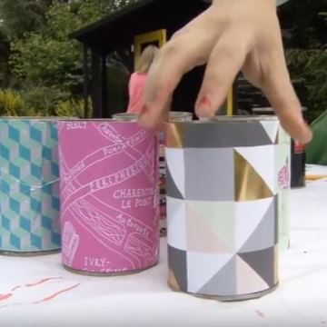 Sophie-Robson-upcycles-old-tin-cans