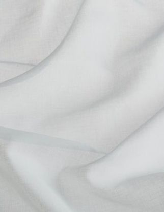 White coloured swirling fabric